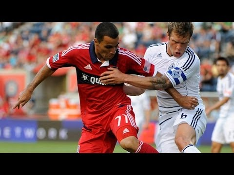 HIGHLIGHTS: Chicago Fire vs Vancouver Whitecaps. MLS July 14th, 2012