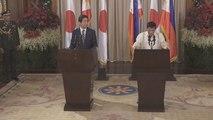 Abe y Duterte acuerdan combatir juntos el terrorismo yihadista y las drogas