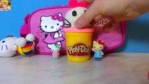 Play Doh Hello Kitty Surprise Egg Opening Funny Kitty Surprise Egg- Überraschungsei Öffnung