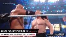 WWE | Brock lesnar vs Goldberg |wwe Survivor Series 2017