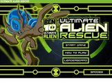 Ben 10 Ultimate Alien Rescue Game - Ben 10 Omniverse Games - Cartoon Network Games