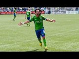 GOAL: Mauro Rosales bends a free kick in | Seattle Sounders FC vs San Jose Earthquakes