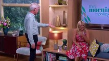 Holly And Phillip Get The Giggles And End Up Crying With Laughter   This Morning
