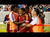 GOAL: Plata beats Jean-Baptiste, fires off the post and in | Real Salt Lake vs. Portland Timbers