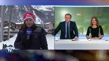BFMTV a essayé un traineau de la Grande Odyssée Savoie Mont Blanc