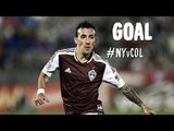 PK GOAL: Sanchez perfectly placed PK levels the match | New York Red Bulls vs Colorado Rapids