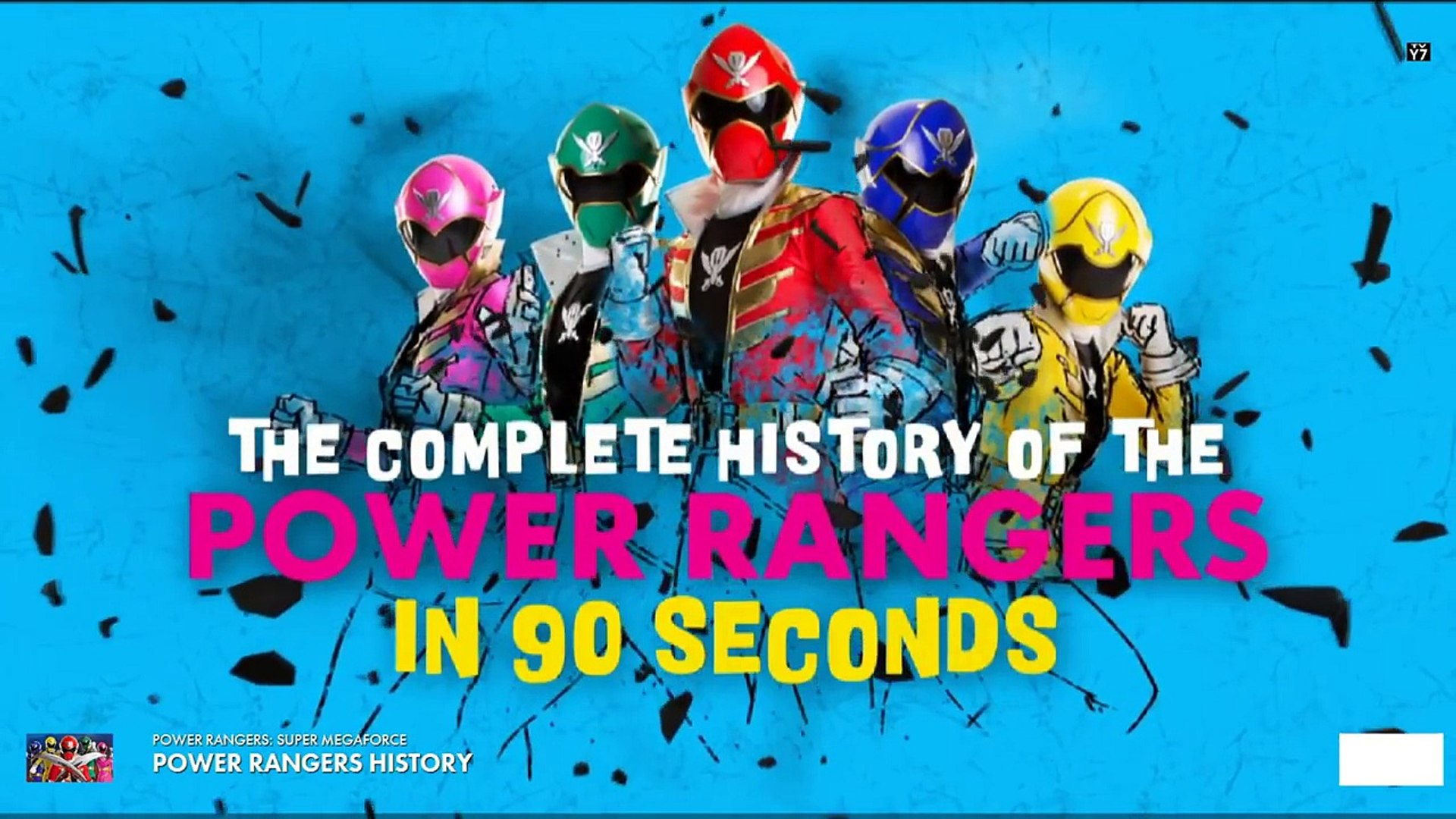 Power Rangers Super Megaforce - Power Rangers History-twjoulDSblE