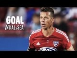 PK GOAL: Michel outwits Stefan Frei and converts the penalty | FC Dallas vs. Seattle Sounders