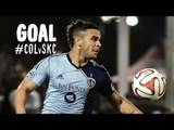 GOAL: Dom Dwyer powers a left foot shot in stoppage time | Colorado Rapids vs. Sporting KC