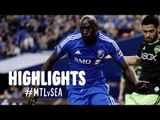 HIGHLIGHTS: Montreal Impact vs. Seattle Sounders | March 23, 2014