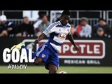 GOAL: Fabian Castillo toes in the equalizer | FC Dallas vs. Chivas USA