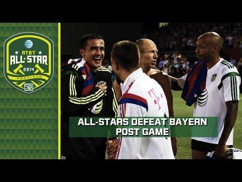 MLS All-Stars defeat Bayern Munich | Post Game reaction