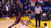 Steph Curry Gets VIOLENTLY Dunked On With RUTHLESS Slam by James Johnson
