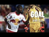 PK GOAL: Bradley Wright-Phillips squeezes his PK by Frei   New York Red Bulls vs Seattle Sounders
