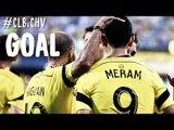 GOAL: Justin Meram earns a second half brace | Columbus Crew vs. Chivas USA