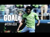 GOAL: Obafemi Martins cleans up a loose ball in the box | Chivas USA vs Seattle Sounders FC