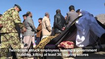 Families mourn over the loss of their loved ones in Kabul attack