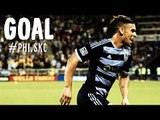 PK GOAL: Dom Dwyer converts from the spot to even the score