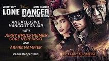 Bêtisier Hangout Lone Ranger - Armie Hammer perturbe Gore Verbinski !-Kvkm0ZfkHdw