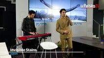 AaRON chante en live au Parisien