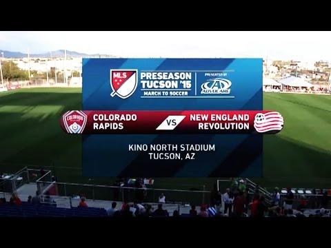 HIGHLIGHTS: Colorado Rapids vs. New England Revolution   MLS Preseason 2015