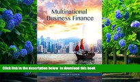 PDF  Multinational Business Finance (14th Edition) (Pearson Series in Finance) David K. Eiteman