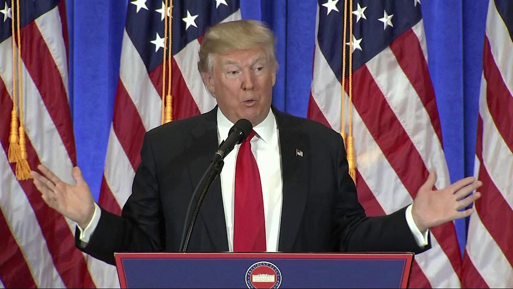 Trump news conference aggressive,confrontational, extraordinary