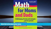 Kindle eBooks  Math for Moms and Dads: A dictionary of terms and concepts...just for parents