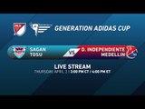 Sagan Tosu vs. Independiente Medellín   Generation adidas 2015