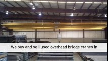 Used 75 Ton Demag Overhead Bridge Crane For Sale Call 616-200-4308