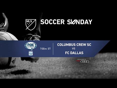 MLS Soccer Sunday: Columbus Crew SC vs FC Dallas