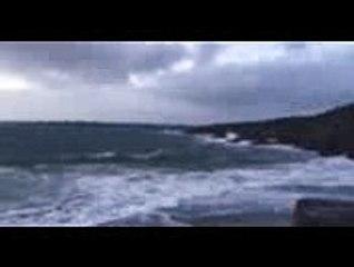 Tempête à Moëlan-sur-Mer