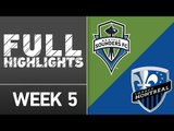 HIGHLIGHTS: Seattle Sounders vs. Montreal Impact | April 2, 2016