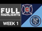 HIGHLIGHTS: Chicago Fire vs. New York City FC | March 6, 2016