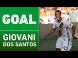 GOLAZO: Giovani dos Santos with an amazing strike to the far post
