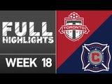 HIGHLIGHTS: Toronto FC vs. Chicago Fire | July 9, 2016