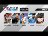 Vote now for Etihad Airways Player of the Month for May
