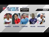 Vote now for Etihad Airways Player of the Month for July