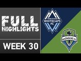 HIGHLIGHTS | Vancouver Whitecaps FC 1-2 Seattle Sounders FC