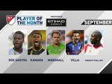 Etihad Airways Player of the Month for September