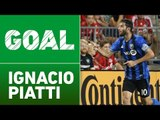 GOAL: Ignacio Piatti puts away Matteo Mancosu's centering pass