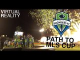 Path to MLS Cup in Virtual Reality