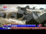 Penyangga Beton Bendung Katulampa Hanyut Terbawa Banjir
