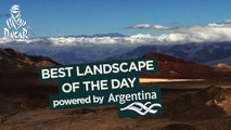 Stage 10 - Paisaje del día / Landscape of the day / Paysage du jour; powered by Argentina