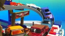 Fastlane Rescue Station Matchbox Hotwheels Fastlane Car Toys Ramps - Car Race for Toddlers Boy
