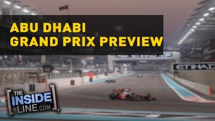 ABU DHABI GRAND PRIX PREVIEW