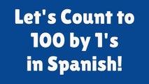 SPANISH Numbers 1-100   Learn Spanish   Spanish for Kids   Numbers in Spanish   Spanish Numbers