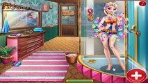 FROZEN ELSA AND JACK FROST KISSING AT SAUNA! Elsa Sauna Flirting Realife Game For Kids!