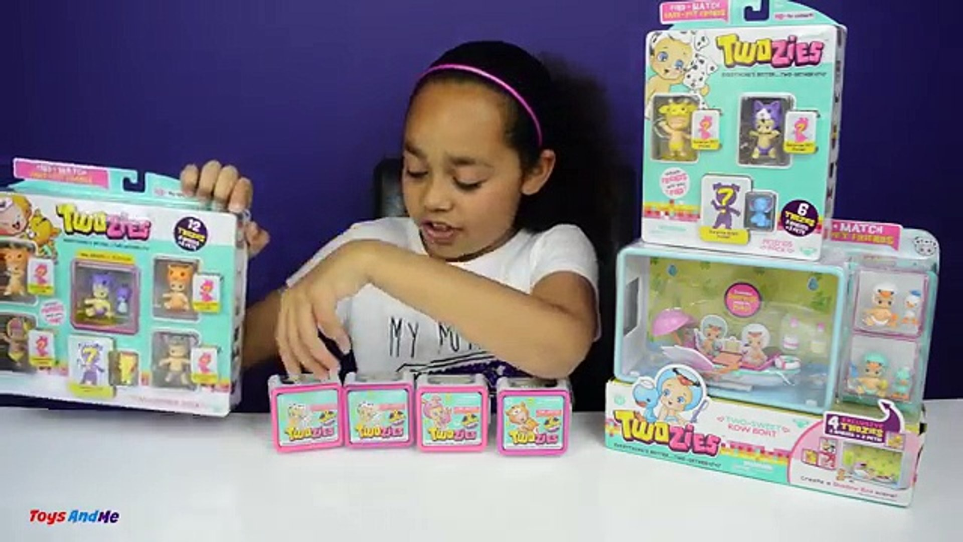 TWOZIES Two Sweet Row Boat - Exclusive Babies & Pets - Twozies Friends & Surprise Packs