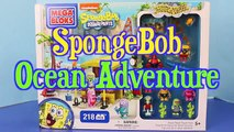 SpongeBob SquarePants Mega Bloks Lego Board Build NEW Sponge Bob Stop Motion Movie